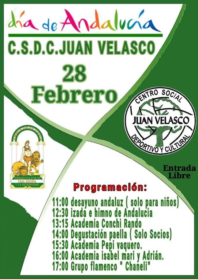 Día de Andalucía en Juan Velasco