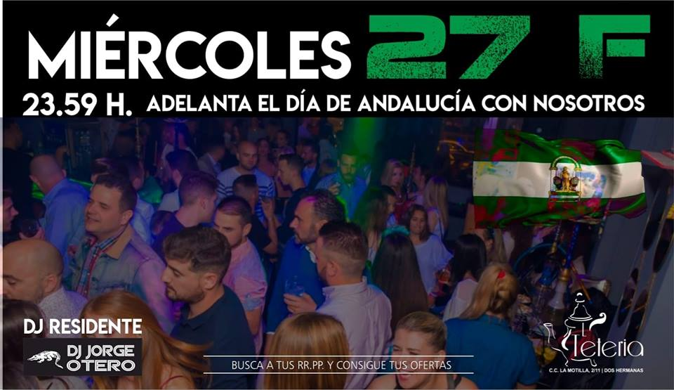 La Tetería de la Motilla Día de Andalucía