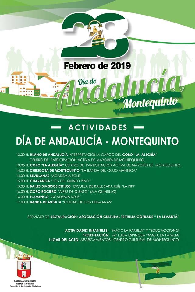 Día de Andalucía en Montequinto en el Centro Cultural Biblioteca de Montequinto