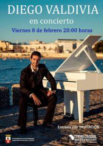 Diego Valdivia concierto en el Centro Cultural Biblioteca de Montequinto