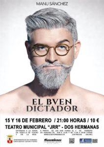 El Buen Dictador de Manu Sánchez en el Teatro Municipal Juan Rodríguez Romero