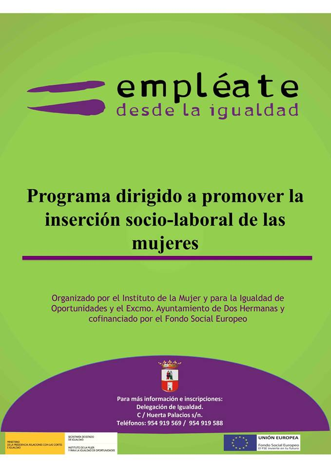 Empleate desde la Igualdad organizado por la Delegación de Igualdad