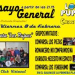 Chirigota Los Pupas Ensayo General para el Carnaval de Dos Hermanas 2019