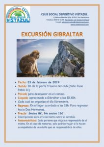 Excursión a Gibraltar por el CSD Vistazul