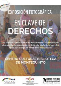 Exposición fotográfica En Clave de Derechos en el Centro Cultural Biblioteca de Montequinto