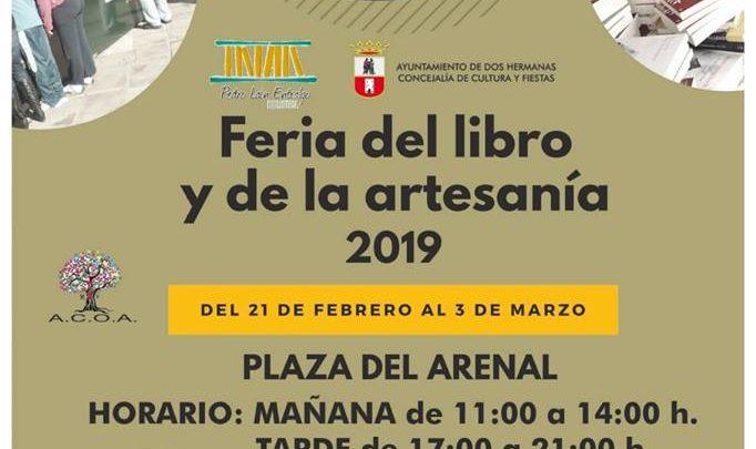 Feria del libro y de la artesanía 2019 en Dos Hermanas