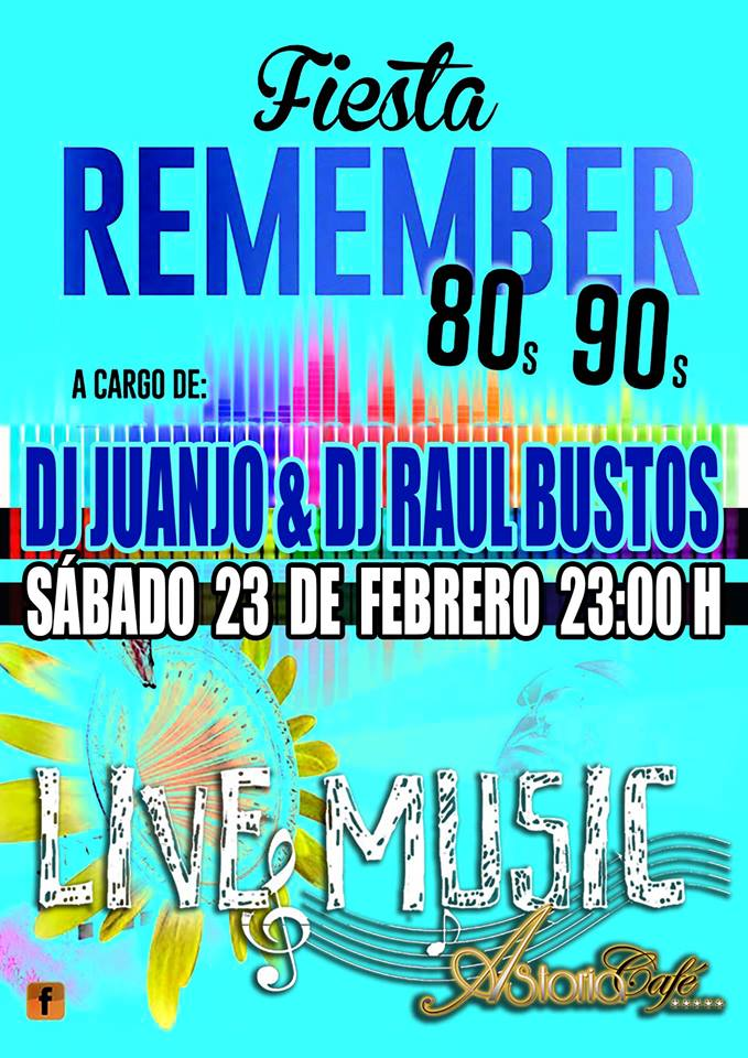 Fiesta Remember en Astoria Café