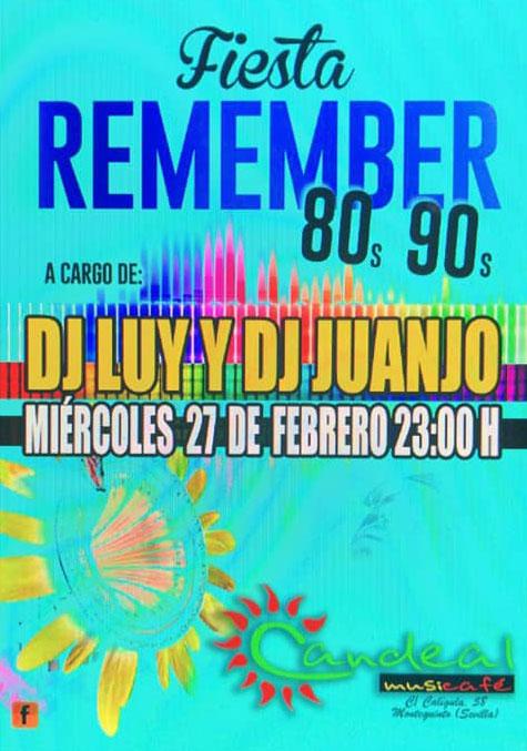 Fiesta Remember en el Puente de Andalucía en Candeal Musicafé
