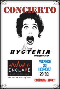 Hysteria en Sala Enclave Montequinto