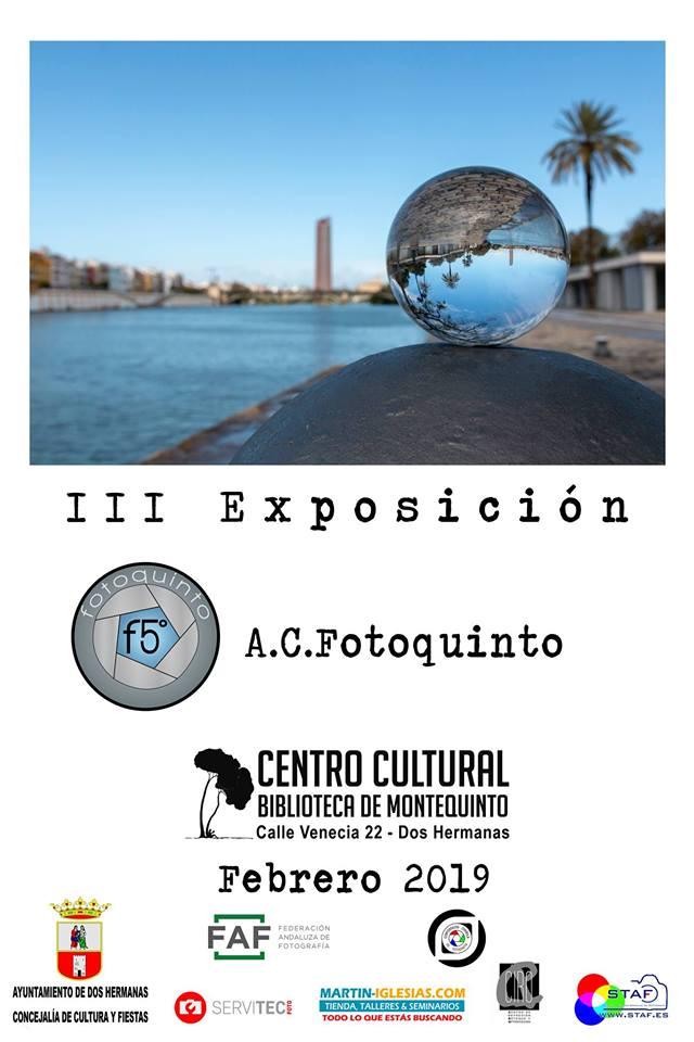 III Exposición de Fotoquinto en el Centro Cultural Biblioteca de Montequinto