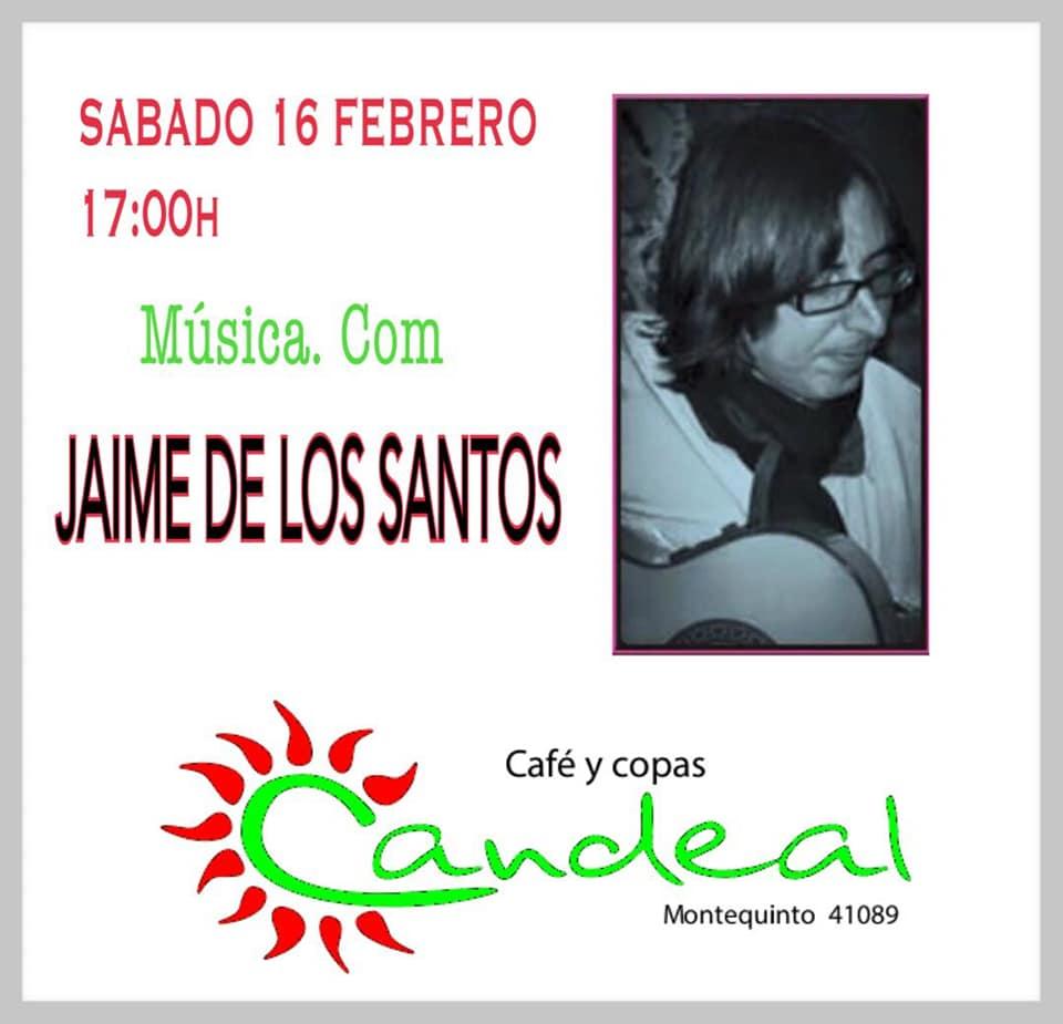 Jaime de los Santos en Candeal Musicafé