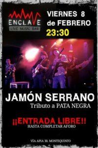 Jamón Serrano tributo a Pata Negra en Sala Enclave