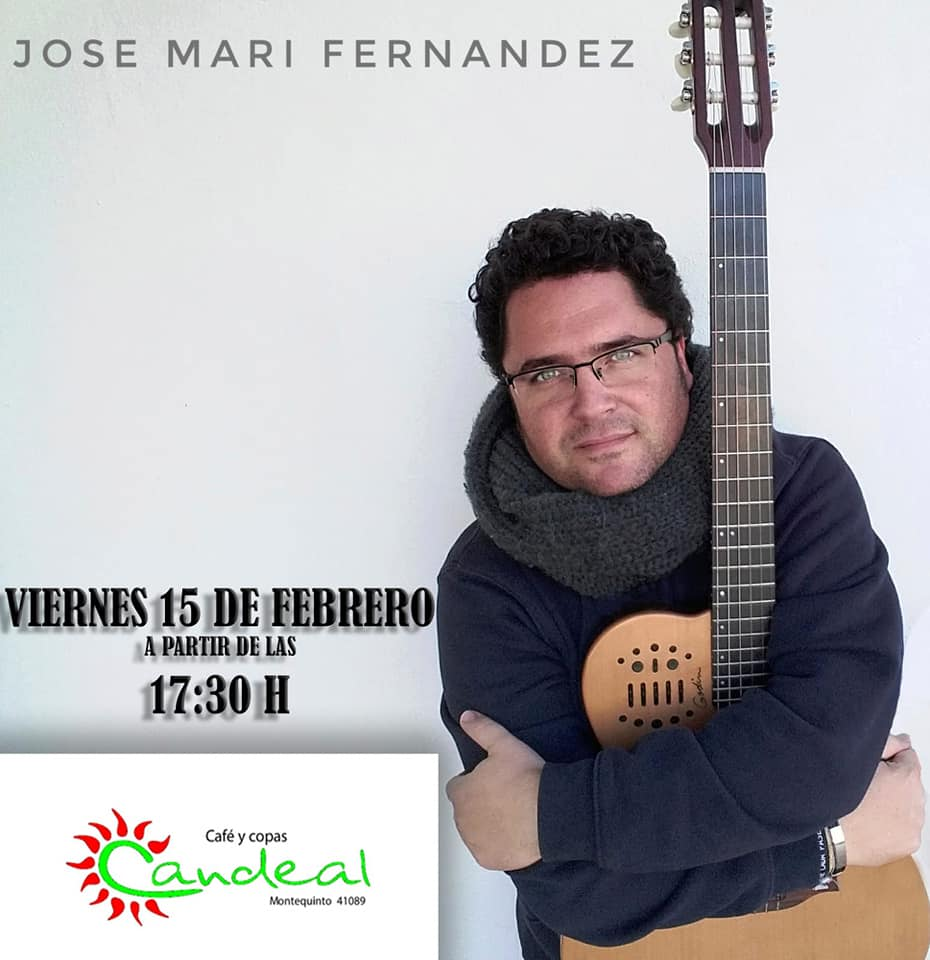 José Mari Fernández en Candeal Musicafé