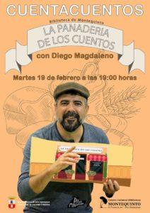 La Panadería de los cuentos con Diego Magdaleno