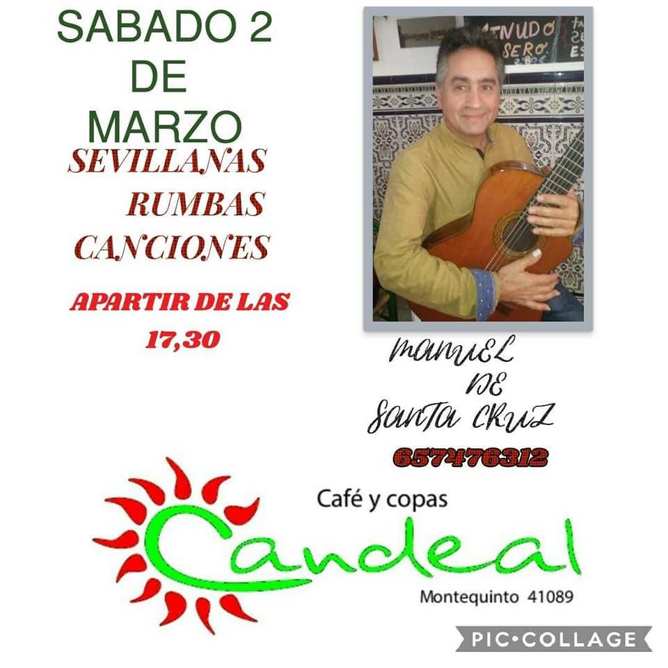 Manuel de Santa Cruz en el Puente de Andalucía en Candeal Musicafé