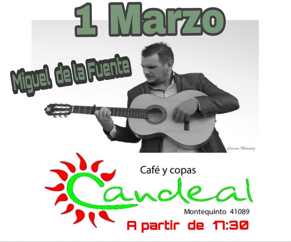 Miguel de la Fuente en el Puente de Andalucía en Candeal Musicafé