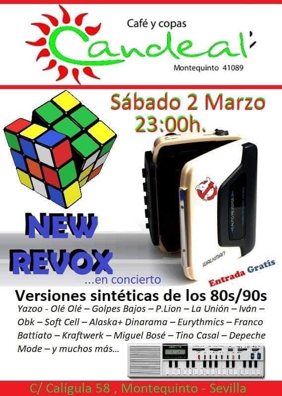 New Revox en el Puente de Andalucía en Candeal Musicafé