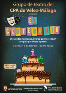 Obra teatral El Centenario en el Centro Cultural Biblioteca de Montequinto