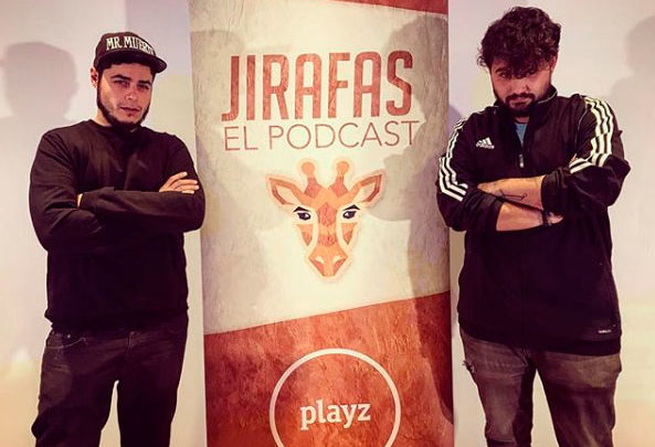Photo of Podcast Jirafas con David Sainz, Juan Amodeo y Abi Power en el Centro Cultural La Almona