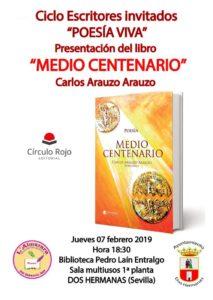 Presentación de Carlos Arauzo en la Biblioteca Pedro Laín Entralgo