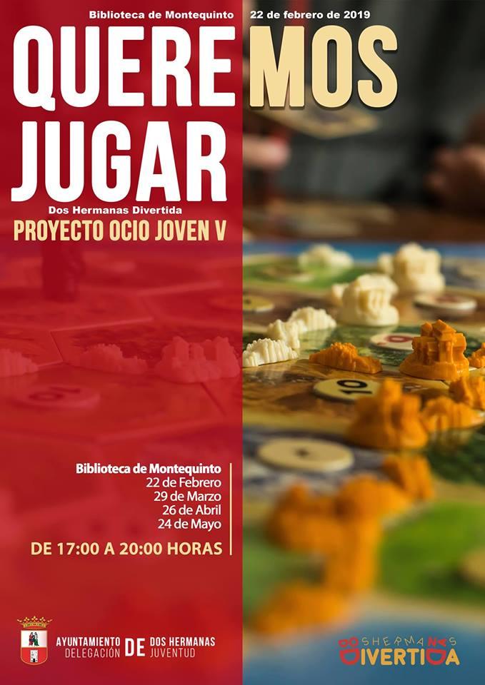 Proyecto Ocio Joven V de Queremos Jugar!