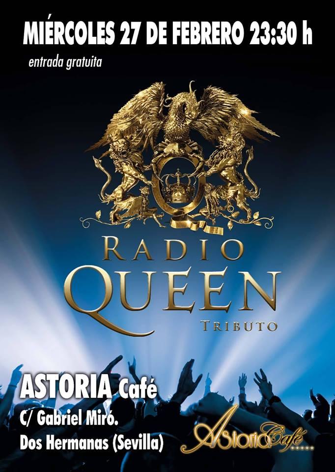 Radio Queen en Astoria Café