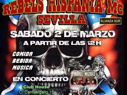 Photo of Party Rebels Hispania MC Sevilla en el Club House