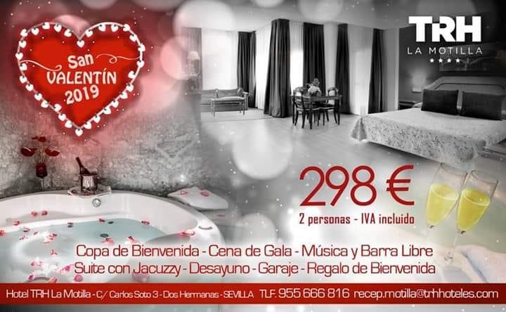 TRH Hoteles San Valentín Noche