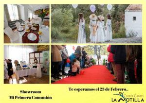 Showroom Mi Primera Comunión en el Club de Campo La Motilla