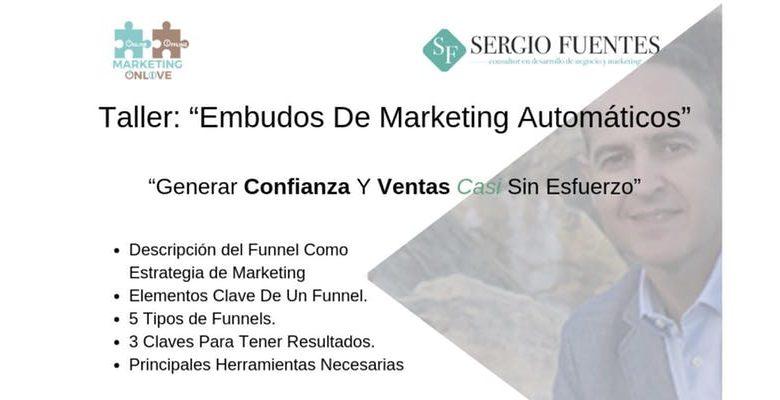 Taller Embudos de Marketing en el Centro Cultural Biblioteca de Montequinto