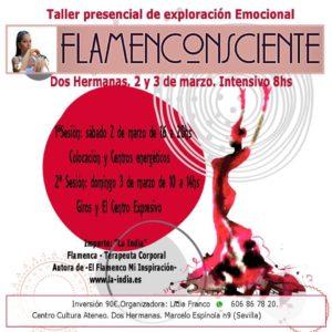 Taller Flamenconsciente en el Centro Cultural Ateneo Andaluz