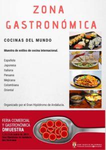 Zona Gastronómica en la Feria DMuestra Dos Hermanas