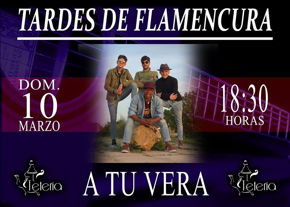 A tu vera flamenco en La Tetería de La Motilla