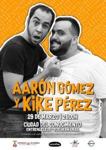 Aarón Gómez y Kike Pérez en la Ciudad del Conocimiento (Entrenúcleos) en Dos Hermanas