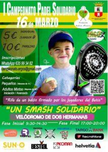 I Campeonato de Pádel Solidario en el Velódromo de Dos Hermanas