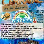 Carnaval en el CSD Vistazul viernes 1 de marzo