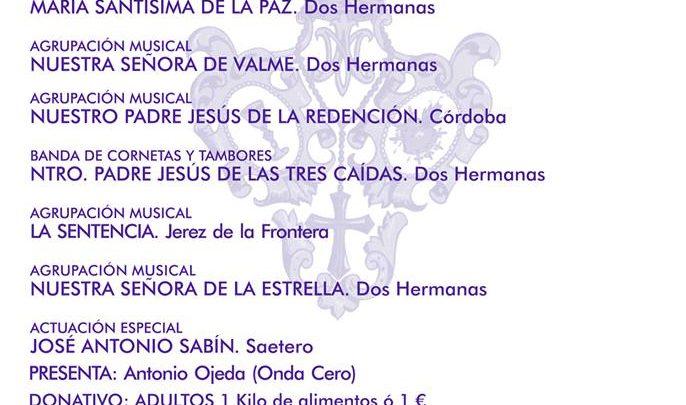 Certamen de Marchas Procesionales Ciudad de Dos Hermanas en el Auditorio Rocío Jurado