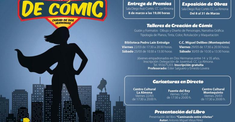 """Photo of Actividades del XXV Concurso Nacional de Cómics """"Ciudad de Dos Hermanas"""""""