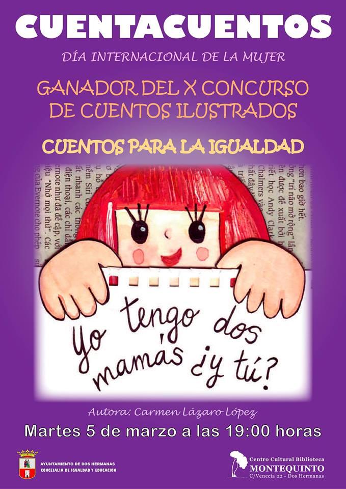 Cuentos para la Igualdad en el Centro Cultural Biblioteca de Montequinto