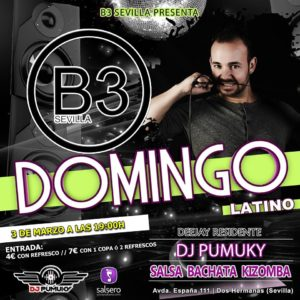 Domingo Latino en B3 Sevilla