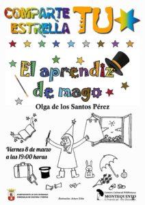 Comparte tu estrella: El aprendiz de mago en el Centro Cultural Biblioteca de Montequinto