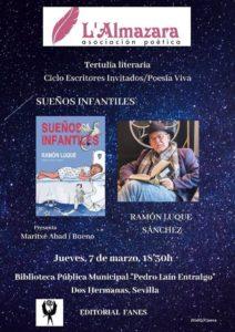 Presentación del libro Sueños Infantiles de Ramón Luque Sánchez