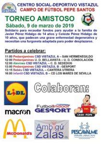 Torneo Amistoso de fútbol del CSD Vistazul
