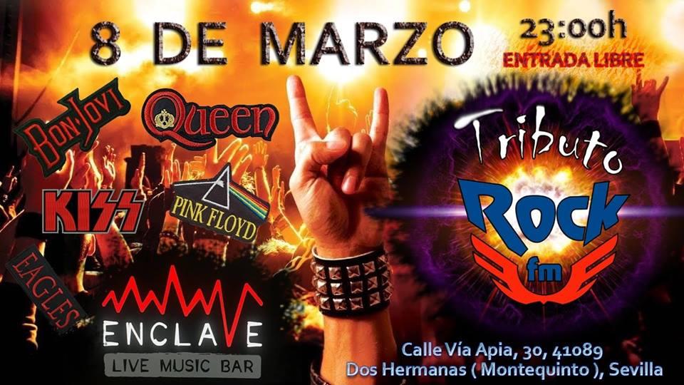 Tributo Rock FM en Sala Enclave
