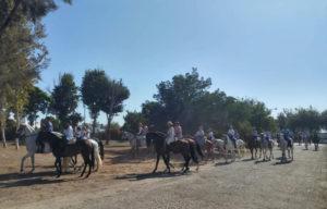 V marcha a caballo al Real Santuario de Cuarto