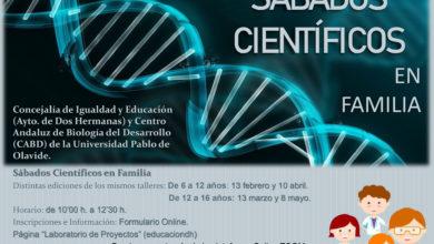 """Proyecto Dos Hermanas Científica: """"Sábados Científicos en Familia"""""""