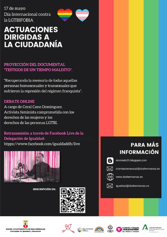 """Proyección del documental """"Testigos de un tiempo maldito"""" y debate online"""